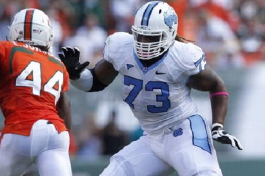 Brennan Williams Scouting Report: NFL Outlook for North Carolina OT