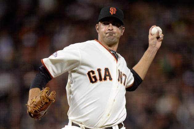 Giants to Place Affeldt on DL with Oblique Injury