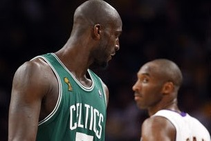 KG Texts Kobe: Mutual Respect Between 2 Legends