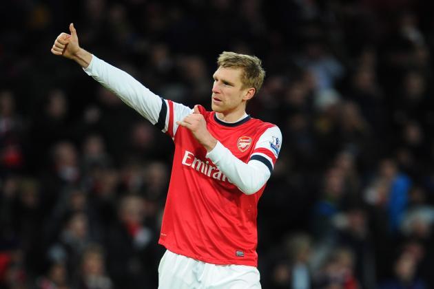 Per Mertesacker: Running the Numbers on His Arsenal Season