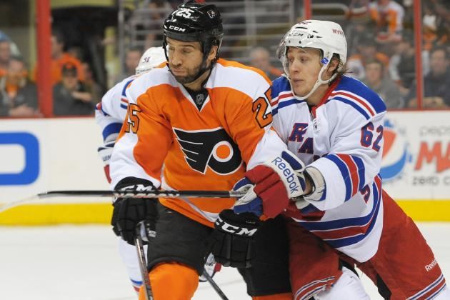 ESPN Gamecast: Rangers vs. Flyers