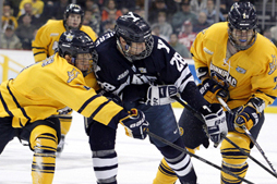 Ducks Sign Former Yale Center Antoine Laganiere to 2-Year Entry Level Deal