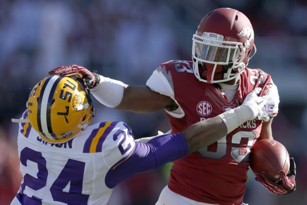 Dennis Johnson Scouting Report: NFL Outlook for Arkansas RB