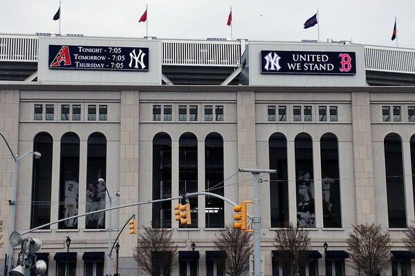United We Stand: Thoughts on the New York Yankees Tribute to Boston