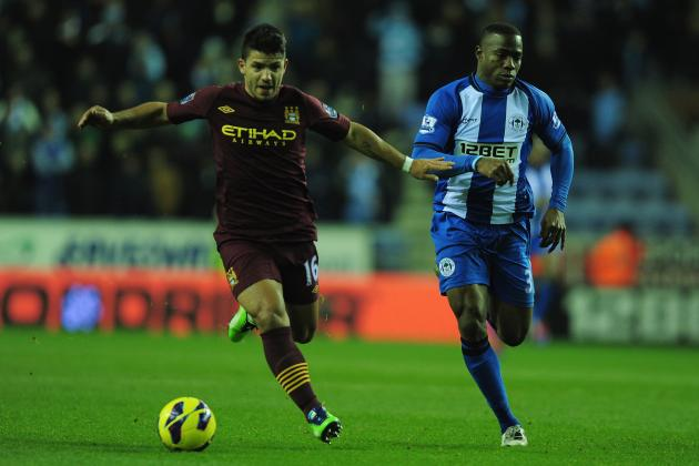 Manchester City vs. Wigan Athletic: Date, Time, Live Stream, TV Info and Preview