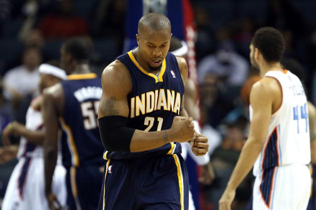 Why David West Will Be the Key to Indiana Pacers' Post-Season Success