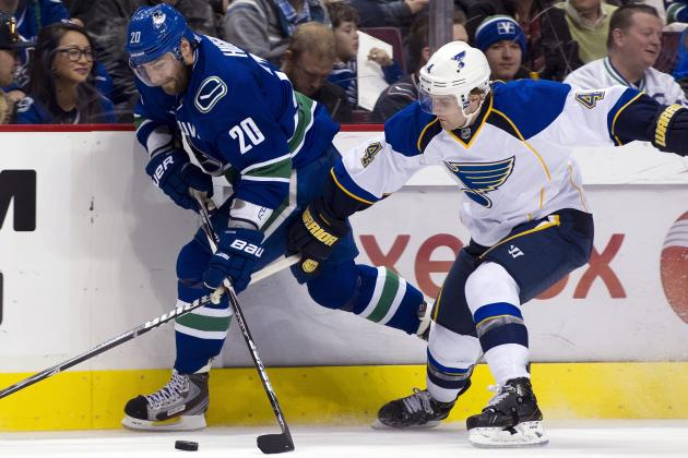 Blues Score in Third, Defeat Canucks in Shootout