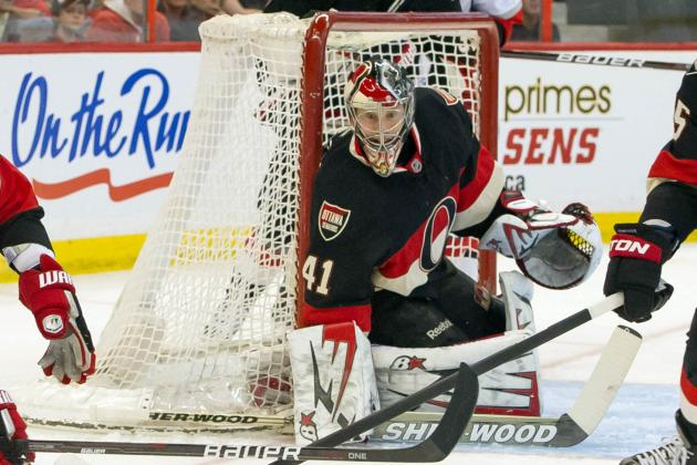 Anderson Stops 32 Shots as Sens Edge Canes