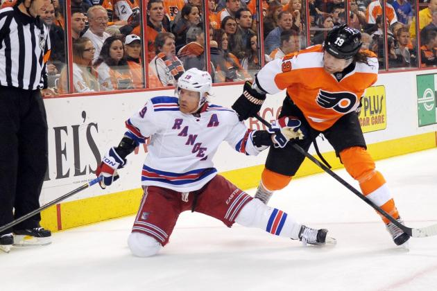 Flyers Stay Alive, Gain on Rangers with Win