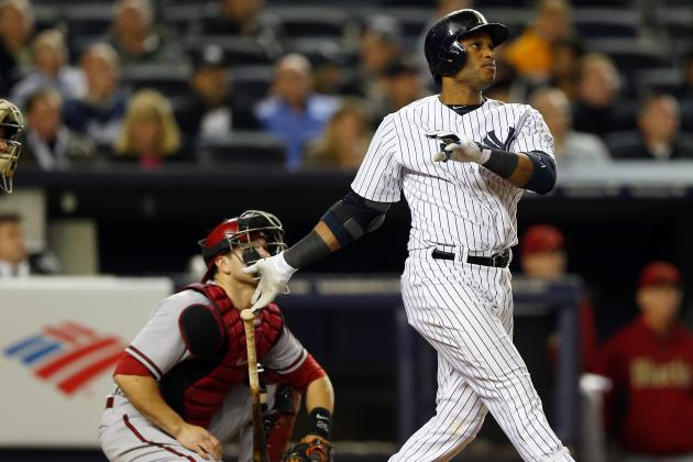 Yankees Ride Cano's Home Run by D-Backs