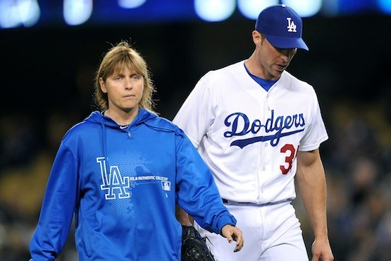 Zack Greinke Replacement Chris Capuano Leaves Start with Calf Injury