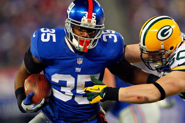 Andre Brown Wants 22 Touchdowns, 1,333 Yards for  NY Giants in 2013