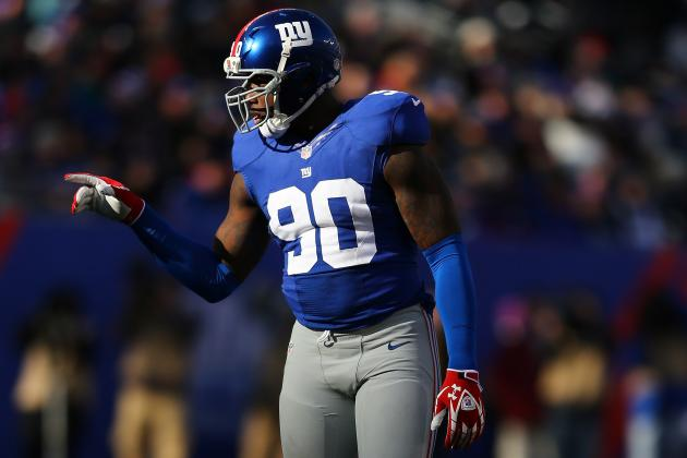 Jason Pierre-Paul Brushes off Coughlin Weight Remark