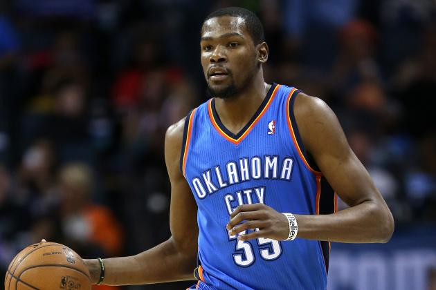 Kevin Durant Concedes Scoring Title to Carmelo Anthony