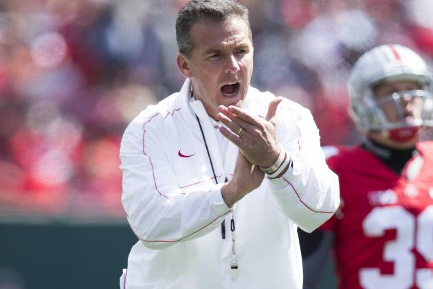 Ohio State Football's Offensive Line Point of Concern for Meyer