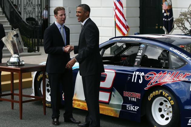 Obama Honors NASCAR Champ Keselowski