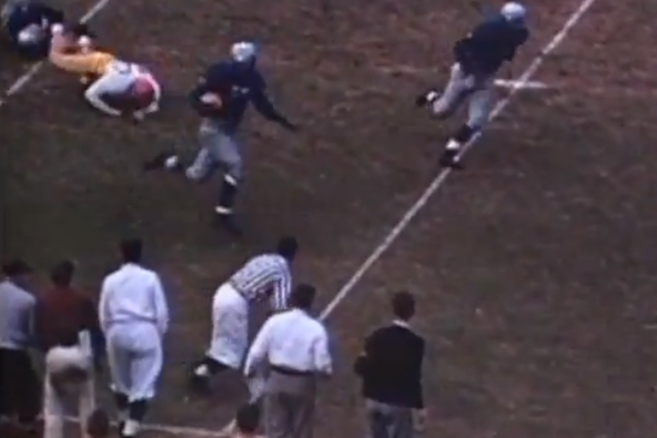 Rare Footage of Jackie Robinson Playing Football for UCLA