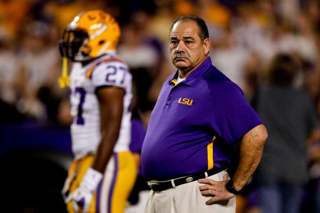LSU's John Chavis Relishes Rebuilding Job