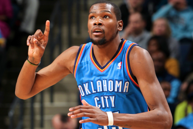 Kevin Durant Seals Epic 50-40-90 Season in 2012-13