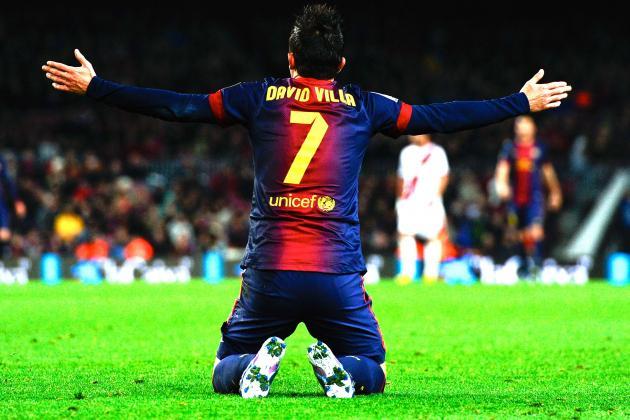 Barcelona: Why David Villa Is in Danger of Losing First-Team Place