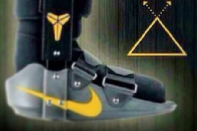 Kobe Bryant Tweets Pic of Achilles Boot, Pledges to 'Dominate' Using Kobe System