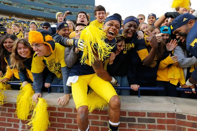 Michigan Stadium Was the No. 1 Home-Field Advantage Last Year? Really?