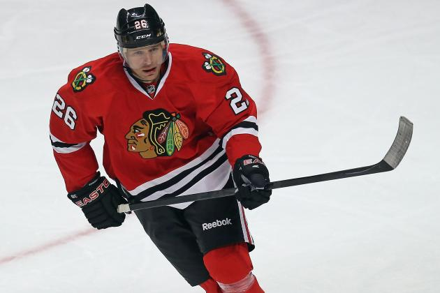 Blackhawks' Michal Handzus Proving He Still Can Play