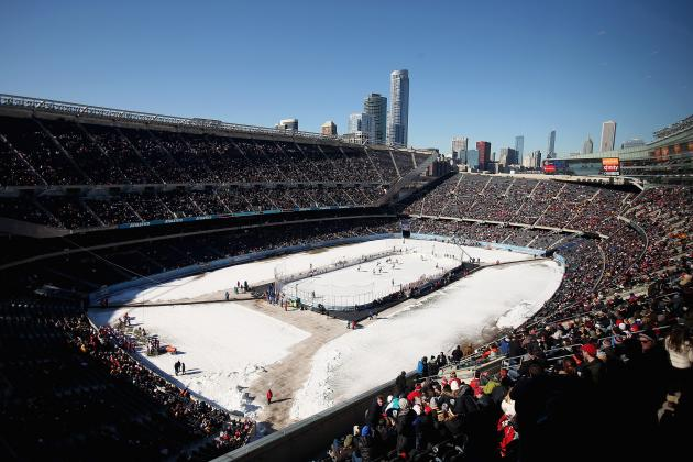 Report: Chicago Blackhawks to Play Penguins at Soldier Field in March 2014