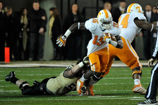 Vols Leave Door Open for RB Lane's Possible Return