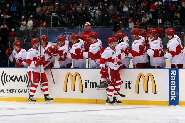 Reports: Wings' Winter Classic First of Six Outdoor Games Next Season