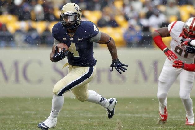 UCLA Football: Is Pitt RB Transfer Rushel Shell a Difference Maker?
