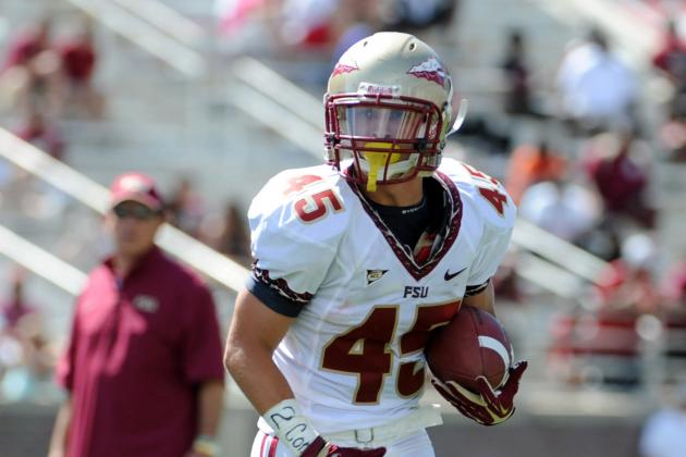 Backup RB Will Burnham Gets Unlikely Role in FSU's Spring Game