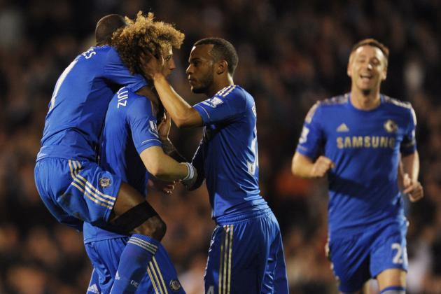 GIF: David Luiz Belter Gave Chelsea the First-Half Lead on Fulham