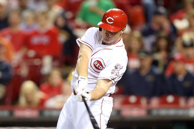 Reds Quickly Finish off Suspended Game, Winning 1-0 in Ninth