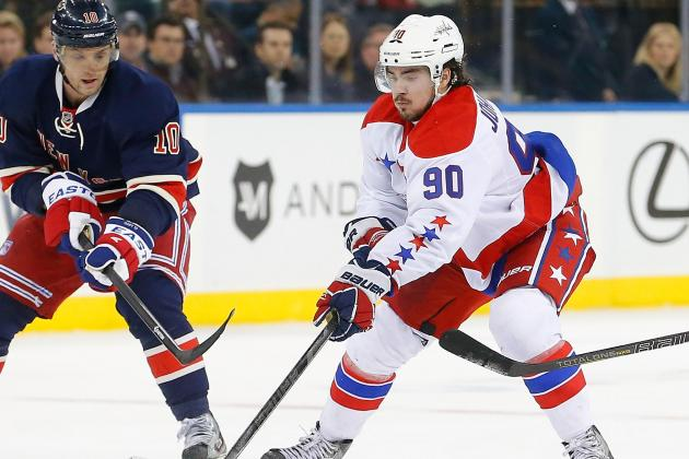 Marcus Johansson Quietly a Key to Capitals' Success