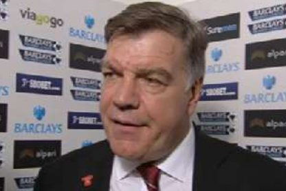 Allardyce Blames the Officals for Costing His Side Victory Against Man Utd