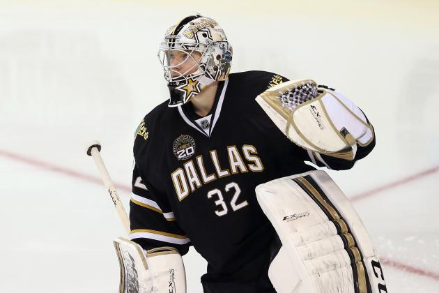 Kari Lehtonen Healthy and Ready to Go, Could Play Final Six Games