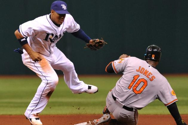 MLB Gamecast: Rays vs. Orioles