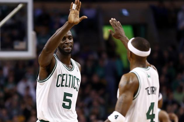 Kevin Garnett and Jason Terry Sit out Finale