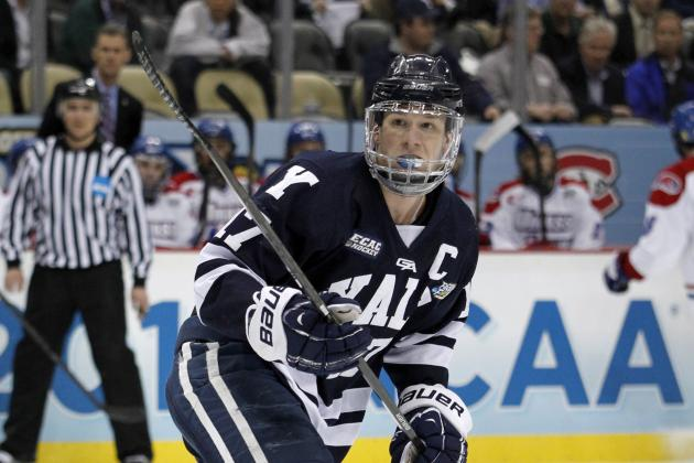 Oilers Sign Frozen Four MVP Miller
