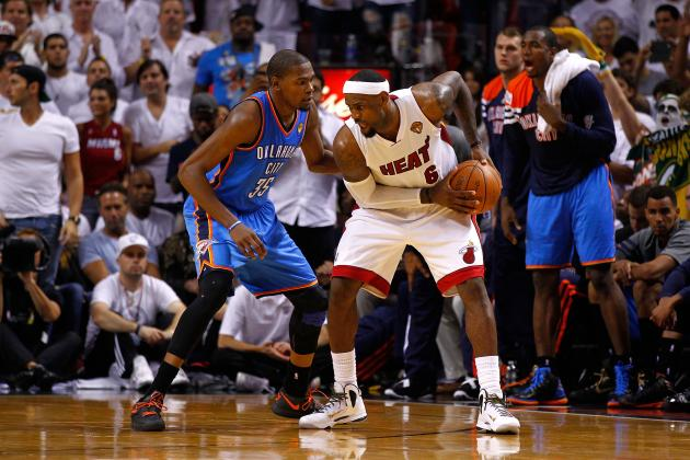 Predicting When Kevin Durant Catches Up To LeBron James In Yearly MVP Duel