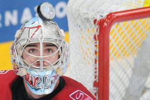 Flames Sign Goalie Acquired in Bouwmeester Trade