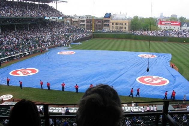 Rangers-Cubs Postponed Due to Rain