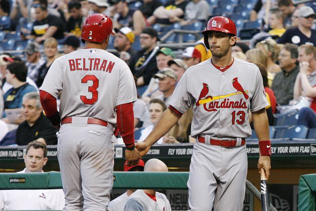 Cards Get One Hit, Lose, 5-0