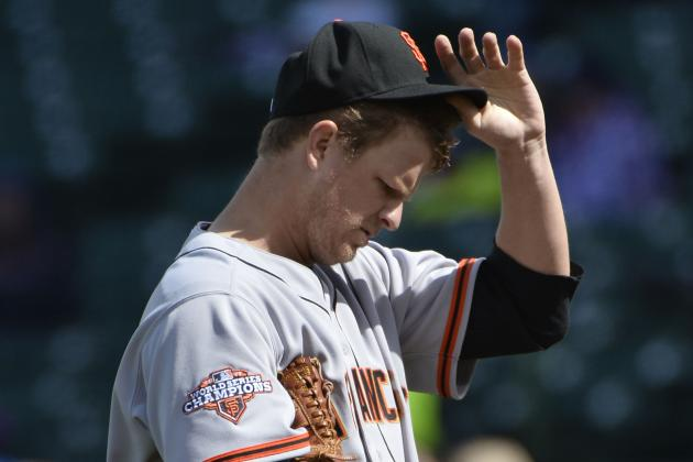 Giants Rotation Hopes to Whittle Down Hefty ERA