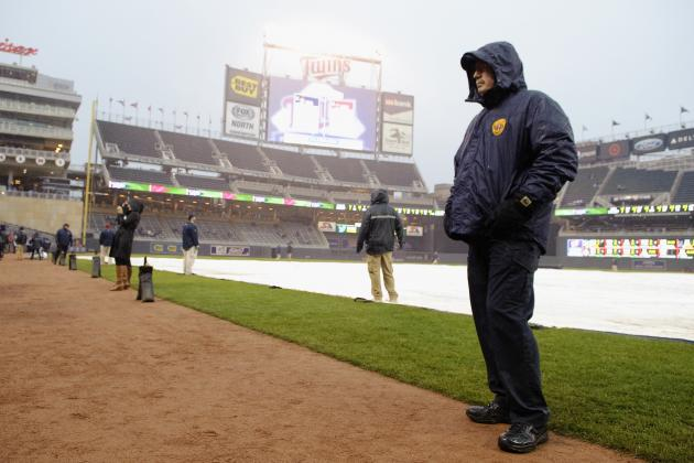 Angels-Twins Game for Wednesday Night Is Postponed