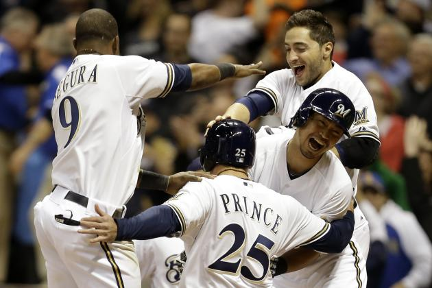 Brewers 4, Giants 3