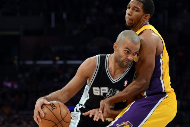Spurs-Lakers in the First Round