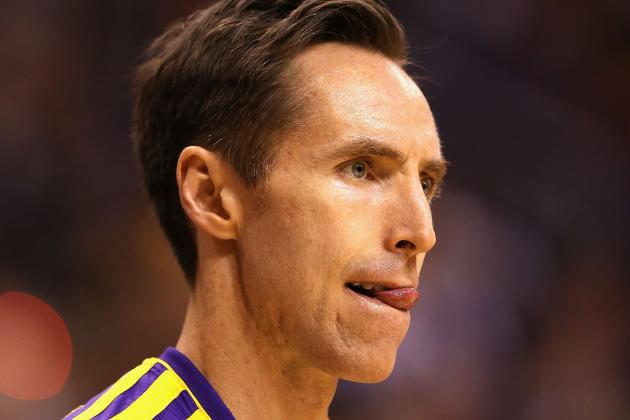 Steve Nash Could Return as Lakers Secure First-Round Playoff Matchup
