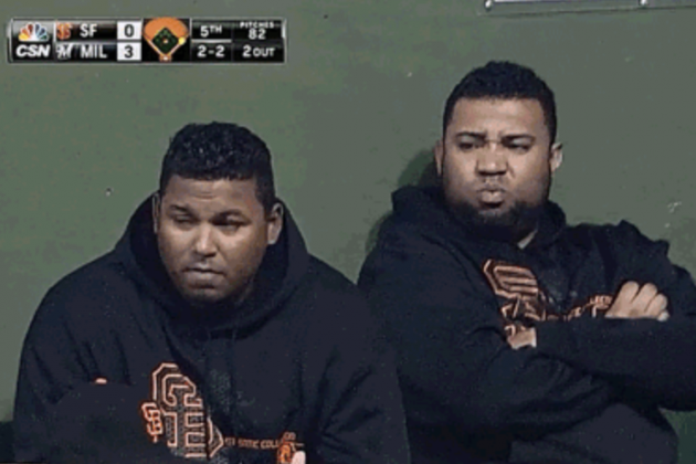 Giants Reliever Jean Machi Smokes out Teammates with a Horrendous Fart